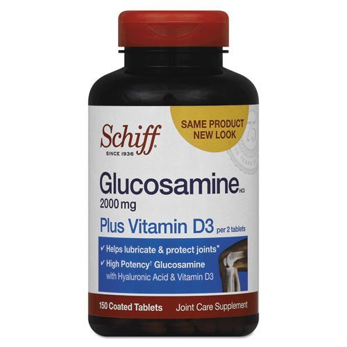 Glucosamine Plus Vitamin D 150 Tabs by Schiff