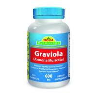 Graviola 600 mg 120 Capsules by Nova Nutritions