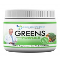 Greens Powder -Doctor Recommended-Complete and Natural Whole Super Food Nutritional Supplement with Organic Fruits, Vegetables, Plus Probiotics and Digestive Enzymes-Compare Our Ingredients!