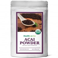 Healthworks Acai Berry Powder Freeze-Dried Raw Organic, 4 Ounce