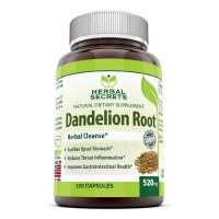 Herbal Secrets Dandelion Root 520 Mg 120 Capsules