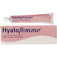 Hyalofemme® Vaginal Moisturiser for Relief of Vaginal Dryness and Irritation, 30g