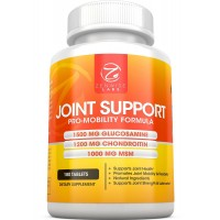 Joint Support Supplement - Complex with 1500mg Glucosamine, 1200mg Chondroitin, 1000 MG MSM & Hyaluronic Acid for Advanced Relief - Mobility Health Supplement for Pain, Aches, Soreness & Inflammation - 180 tablets