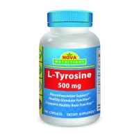 L-Tyrosine 500 mg 180 Capsules by Nova Nutritions