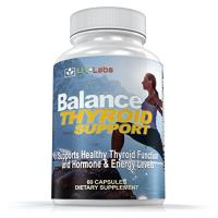 LFI Balance Thyroid Support - Complete Natural Complex With Iodine to Improve Energy & Help Lose Weight; Increase Concentration, Boost Metabolism & Reduce Brain Fog
