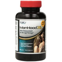 LegacyNutra Manhood XL Male Enhancement Pills Dietary Supplement, 60 Capsules