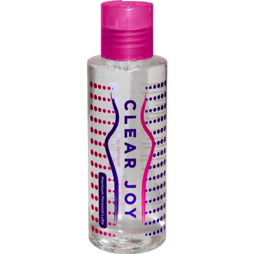 Lubricant - Personal Water Based Lube for Men, Women and Couples - Clear Joy Lubes 4 fl.oz 100% Unconditional Money Back