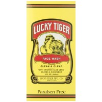 Lucky Tiger Face Wash for Men, 8 Ounce