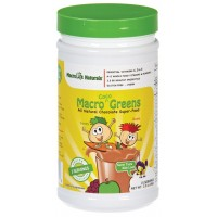 MacroLife Naturals Macro Coco Greens Chocolate Superfood for Kids 3.3 oz Pwdr