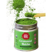 Ceremonial Grade Matcha Green Tea Powder (1.41oz | 40g) - 100% Certified Organic - MADE IN KYOTO JAPAN By eco heed