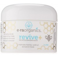 Era Organics Microdermabrasion Face Scrub & Facial Mask in One- Manuka Honey Walnut Natural Face Exfoliator for Dull or Dry Skin, Wrinkles, Blemishes, Acne Scars & More. Exfoliate, Moisturize & Renew Your Skin.