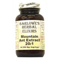 Mountain Ant Extract 20:1 - 60 500mg VegiCaps - Stearate Free, Bottled in Glass
