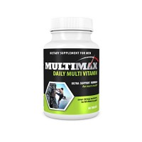 MultiMax Men's Multivitamin Targeted Nutrients for Men's Health Full Spectrum of Minerals B Vitamins and Antioxidants Supports an Active Lifestyle High Potency Formulation -Made in the USA Under Full Compliance With All Appropriate FDA Regulations