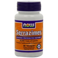 NOW Foods Serrazimes, 90 Vcaps