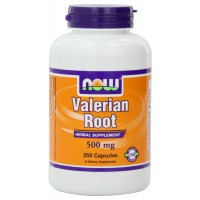 NOW Foods Valerian Root 500mg, 250 Vcaps for Stress Relief, Relaxation