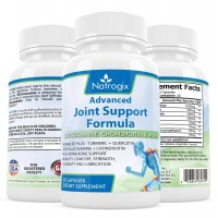 Natrogix 1500mg Glucosamine Joint Support with Rich MSM, Boswellia Extract, Chondroitin Sulfate, Turmeric, Quercetin, Bromelain (High Recommended Joint Supplements)