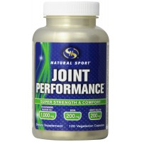 Natural Sport Joint Performance Veg Capsules, 120 Count