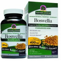 Nature's Answer Boswellia Vegetarian Capsules, 90-Count