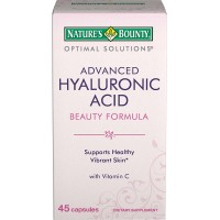 Nature's Bounty Optimal Solutions Advanced Hyaluronic Acid Beauty Formula, Capsules 45 Each