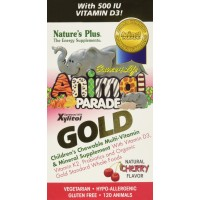 Nature's Plus Source of Life Animal Parade Gold Cherry -- 120 Chewable Tablets