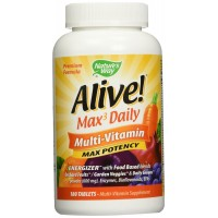 Nature's Way Alive! Max Potency Multi-Vitamin, 180 Tablets