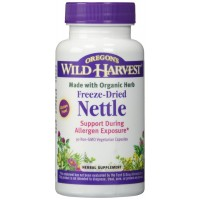 Nettles Freeze Dried - Support During Allergen Exposure, 90 Vcaps,(Oregon's Wild Harvest)