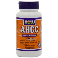 Now Foods Ahcc 500mg, 60 Veg-Capsules for Healthy Immune Support