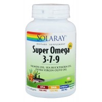 Omega 3-7-9 Solaray 120 Softgel