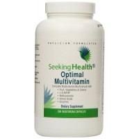 Optimal Multivitamin   Provides Organic Fruits And Vegetables, Greens, Bioflavonoids, Amino Acids And Enzymes   240 Easy-To-Swallow Vegetarian Capsules   Seeking Health