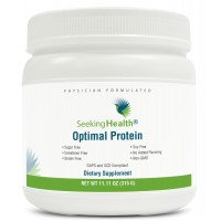 Optimal Protein Powder | From Non-GMO Pea and Rice Protein | Sugar-Free, Gluten-Free, Soy-Free | Vegan Protein Powder | 15 Servings