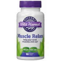 Oregon's Wild Harvest Muscle Relax Organic Supplement, 90 vegetarian Capsules, 720mg proprietary blend