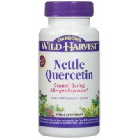 Oregon's Wild Harvest Nettle Quercetin Capsules, 60 Count for Allergy Relief