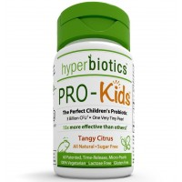 Hyperbiotics PRO-Kids: Children's Probiotics - 60 Tiny, Sugar Free, Once Daily, Time Release Pearls - 15x More Effective than Capsules - Recommended with Vitamins - for Kids Ages 3 and Up - Very Easy to Swallow