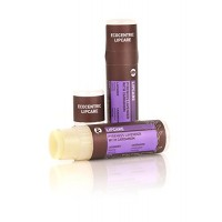 Pangea Organics Lip Balm, Pyrenees Lavender With Cardamom, 0.25-Ounce Tubes