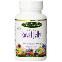 Paradise Herbs Vegetarian Capsules, Royal Jelly, 30 Count