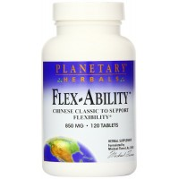 Planetary Herbals Flex-Ability Tablets, 120 Count