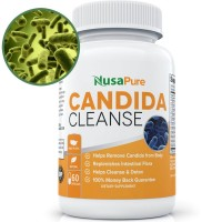 Potent Candida Cleanse: Yeast Infection Treatment and Detox with Herbs, Antifungals, Enzymes and Probiotics: Kills Candida and Prevents Reoccurrence