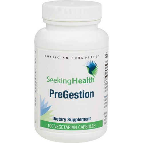 Pregestion | Betaine Hydrochloride | Potent Digestive Enzyme For Heartburn,  Indigestion, Bloating, Gas, Nausea | Free of Common Allergens | 100