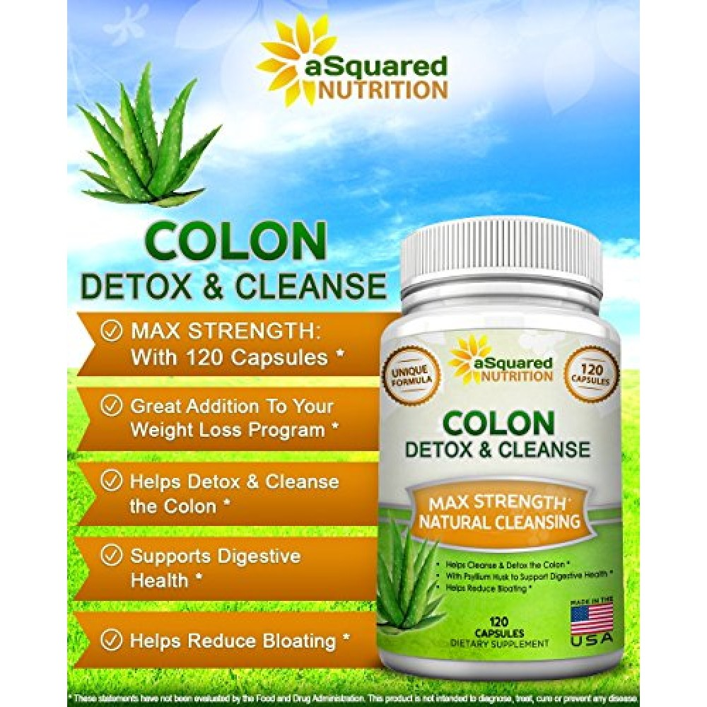 Buy Pure Colon Cleanse For Weight Loss 120 Caps
