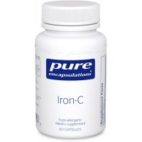 Pure Encapsulations - Iron-C - Hypoallergenic Supplement Supports Optimal Muscle Function* - 60 Capsules