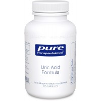Pure Encapsulations - Uric Acid Formula - Hypoallergenic Supplement with Vitamins and Herbal Extracts to Support Healthy Uric Acid Metabolism* - 120 Capsules