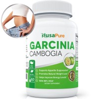 Pure Garcinia Cambogia Extract for Weight Loss, Appetite Suppressant, 80% HCA Max Strength: 100% Guarantee: Order Risk Free!