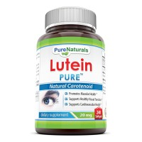 Pure Naturals Lutein, 20 mg, 240 Softgels