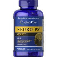 Puritan's Pride NEURO-PS GOLD-90 Softgels