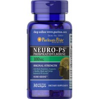Puritan's Pride Neuro-PS (Phosphatidylserine) 100 mg-30 Softgels