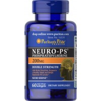 Puritan's Pride Neuro-PS (Phosphatidylserine) 200 mg-60 Softgels