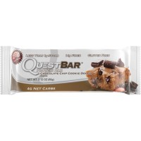 Quest Nutrition Protein Bar, Chocolate Chip Cookie Dough, 21g Protein, 2.12oz Bar, 12 Count