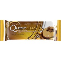 Quest Nutrition Protein Bar, Chocolate Peanut Butter, 20g Protein, 2.1oz Bar, 12 Count
