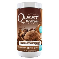 Quest Nutrition Protein Powder, Chocolate Milkshake, 23g Protein, Soy Free, 2lb Tub