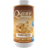 Quest Nutrition Protein Powder, Peanut Butter, 23g Protein, Soy Free, 2lb Tub